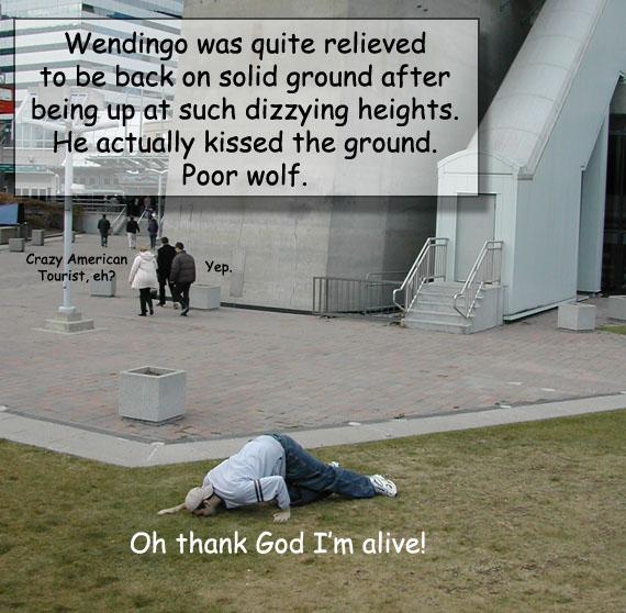 Canadian Filler: Happy Wendingo