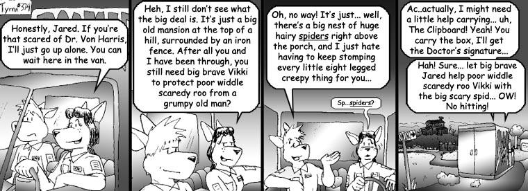#374: Arachnophobia