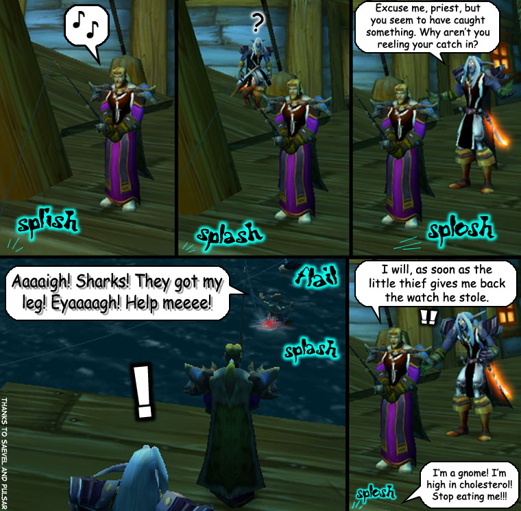 World of Warcraft: Fishing