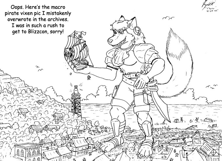 BlizzCon 2: Macro Pirate Vixen