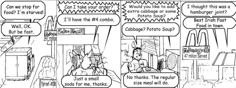#8: Irish Food