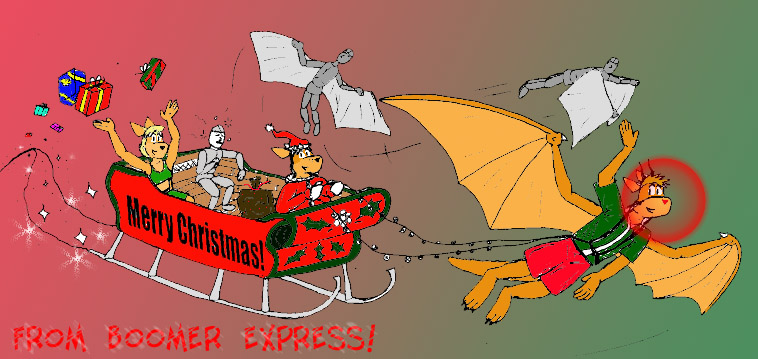 Merry Christmas from Boomer Express!