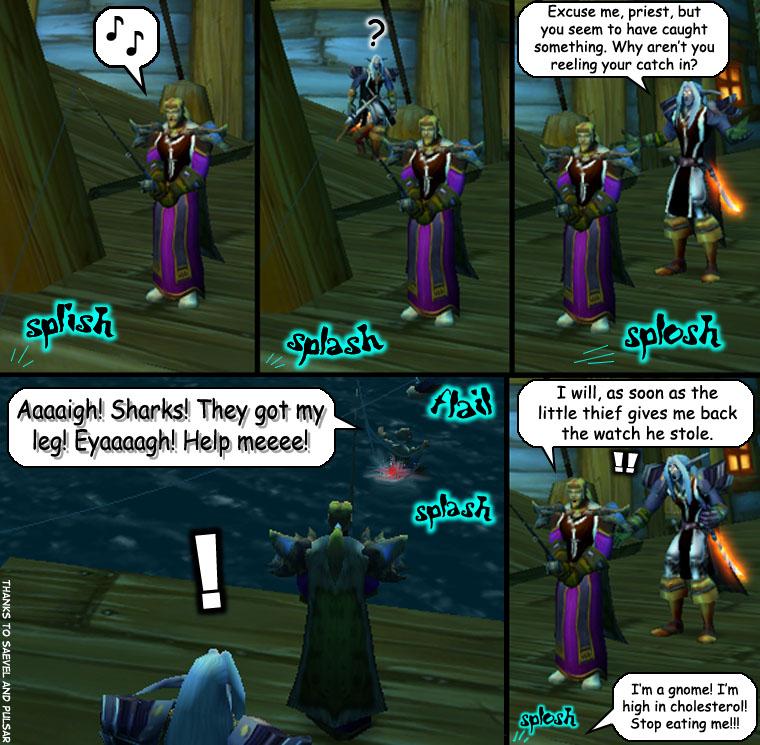 World of Warcraft: Fishing