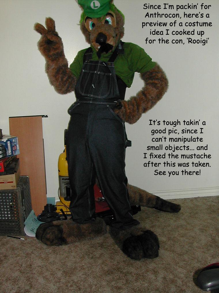 AnthroCon #1: Rooigi!