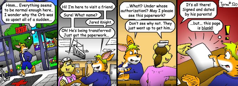 #520: Incriminating Paperwork