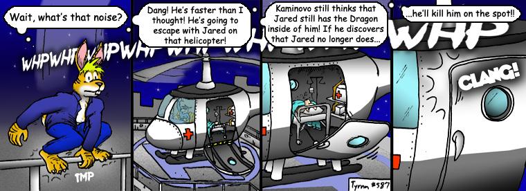 #587: A Clean Getaway?