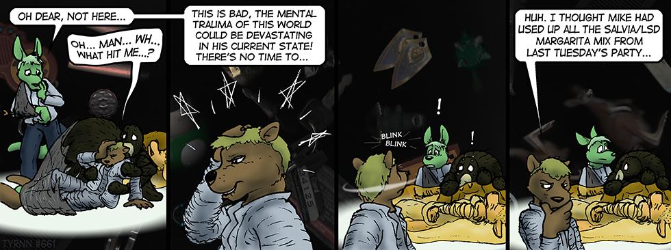 #661: Between Trippin'